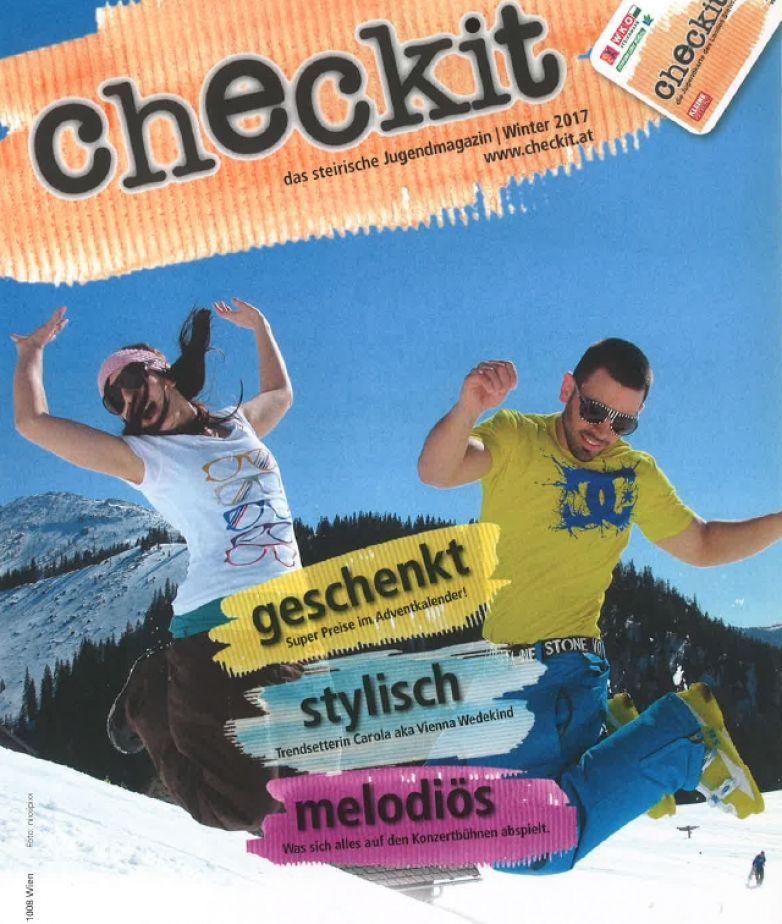 """Einschaltung im Jugendmagazin """"Checkit"""""""