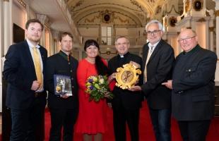 Pressekonferenz anlässlich der Ausstellung Ärzte der Heiligen ab 11. Mai im Stift Vorau