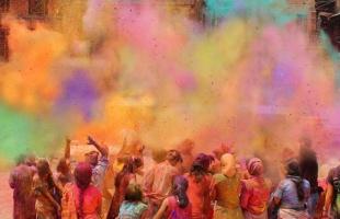 """Das """"Fest der Farben"""""""